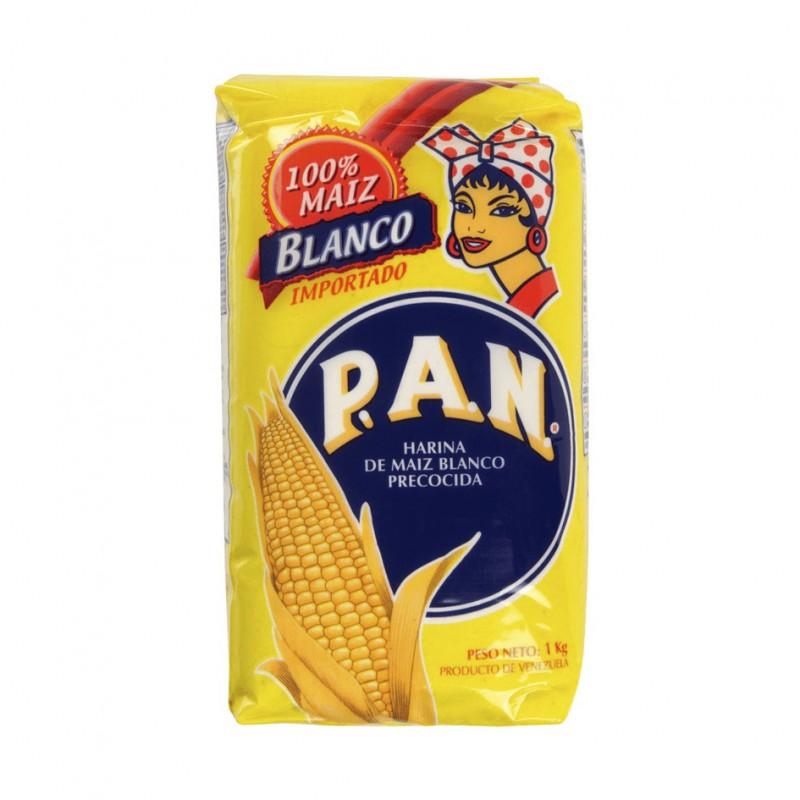 LA BODEGUITA LATINA - Vente en ligne d'Harina Pan Blanco - 1 kg